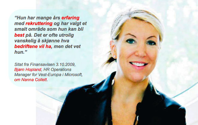 Gründerintervjuet, den 3. oktober 2009,  Finansavisen